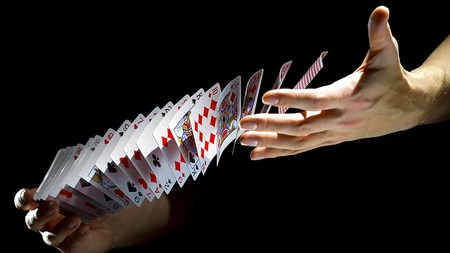 Book of Magic/Card Magic/Card Shuffling - Wikibooks, open books ...