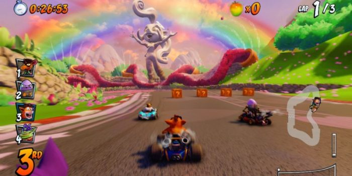 Crash Bandicoot Team Racing